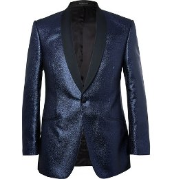 Richard James   - Metallic-Flecked Blazer