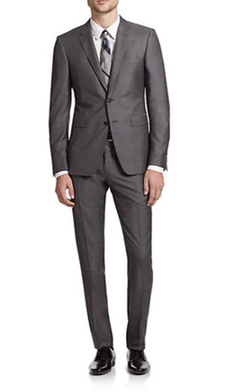 Burberry London  - Two-Button Wool-Silk Suit