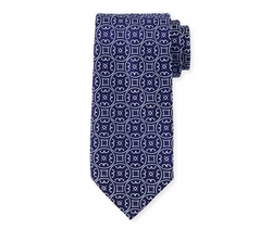 Charvet - Large-Medallion Silk Tie