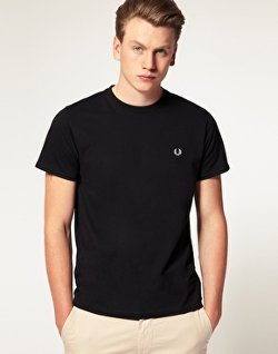 Fred Perry -  Crew Neck Plain T-Shirt