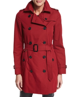 Burberry London - Kensington Mid-Length Trenchcoat