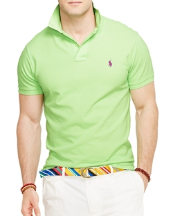 Ralph Lauren - Classic Fit Mesh Polo Shirt