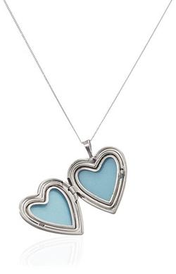 Momento Lockets - Heart Shaped Locket Pendant Necklace