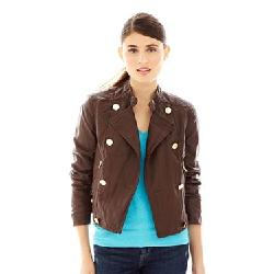 Joe Fresh - Faux-Leather Motorcycle Jacket