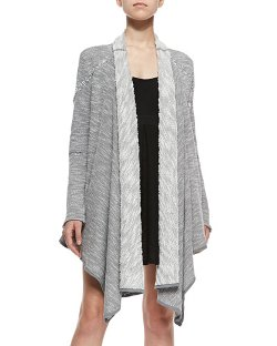 Free People - In The Loop Long Open-Front Cardigan