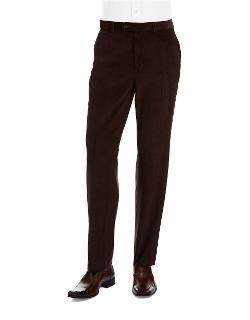 Lauren Ralph Lauren  - Flat Front Corduroy Pants