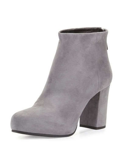 Prada - Back-Zip Ankle Boots