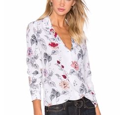 Equipment - Adalyn Floral Print Button Up Shirt