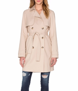 1. State - Doubleweave Trench Coat