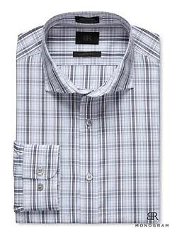 Banana Republic - Monogram Bold Plaid Shirt