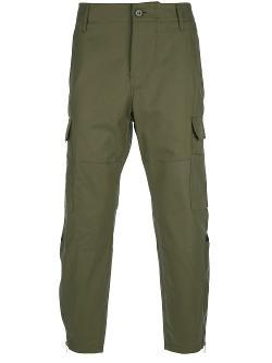 Alexander McQueen - Zip Detail Cargo Trousers