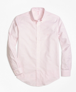 Brooks Brothers - Madison Fit Stripe Sport Shirt