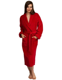 Towel Selections - Turkish Cotton Shawl Bathrobe
