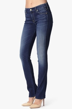 7 For All Mankind - Slim Illusion Kimmie Straight Jeans