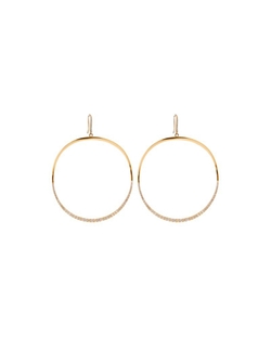 Lana - Large Mirage Wave Hoop Earrings