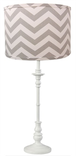 Rosenberry Rooms - Grey Chevron Lamp Shade