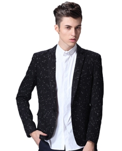 Joy Harbor - Sequins Fashion Blazer