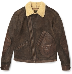 RRL - Kruse Shearling Jacket