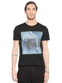 Richmond  - Printed Cotton Jersey T-Shirt