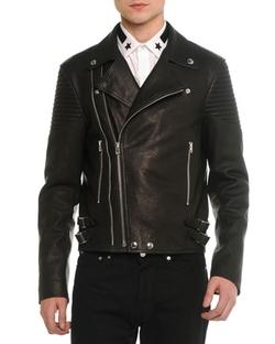 Givenchy - Asymmetric Leather Moto Jacket