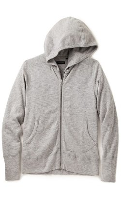 Wings + Horns - Base Full Zip Hooded Sweater