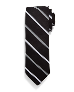 Todd Snyder  - Two-Bar Striped Cotton Tie