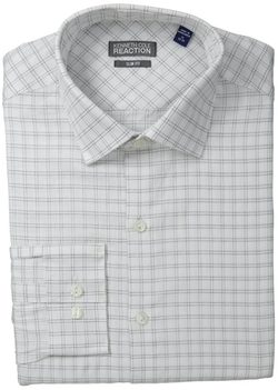 Kenneth Cole Reaction - Textured Check Dress Shirt