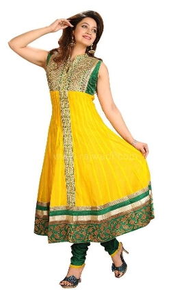 Rajwadi - Refreshing Anarkali Suit.