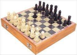 Artisan - Carved Soapstone Chess Set