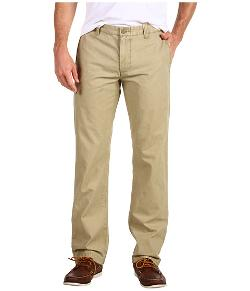 Dockers - Broken In Khaki Slim Straight Fit Flat Front