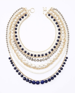 Ann Taylor - Pearlized Statement Necklace