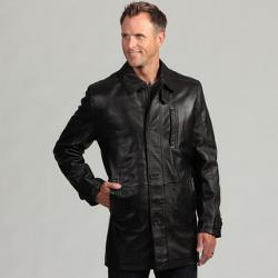 Izod  - Lambskin Leather Coat
