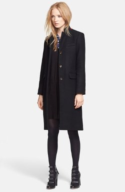 Marc By Marc Jacobs - Hiro Felt Car Coat