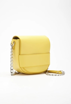 Forever 21 - Faux Leather Flaptop Crossbody Bag