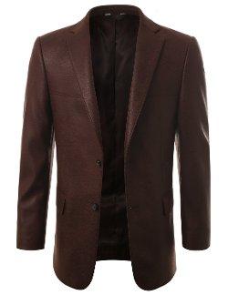 Monday Suit - Leather Sport Coat Blazer Jacket