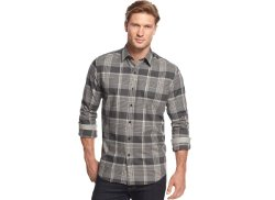 Tasso Elba  - Moors Long Sleeve Plaid Shirt