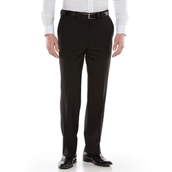 Louis Raphael  - Wool Blend Flat-Front Dress Pants