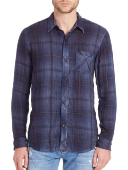 Hudson  - Plaid Sport Shirt