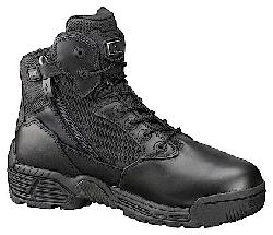 Magnum  - Stealth Force Side-Zipped Black Boot w/ Composite Safety Toe