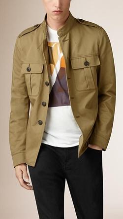 Burberry - Cotton Twill Field Jacket