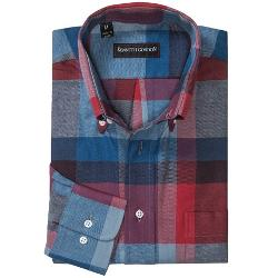 Kenneth Gordon  - Multi-Plaid Sport Shirt