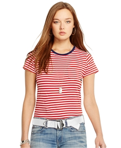 Polo Ralph Lauren - Striped Crew-Neck Tee