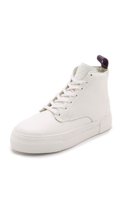 Eytys - Odyssey Leather High Top Sneakers
