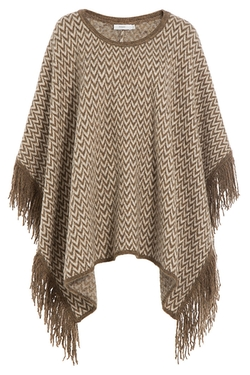 Closed - Knit Cape With Alpaca