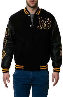 MSTKN  - The Keepers Varsity Jacket