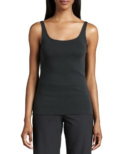 Eileen Fisher	 - Organic Cotton Slim Tank Top