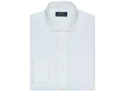 Ralph Lauren - Slim-Fit Poplin Solid Dress Shirt