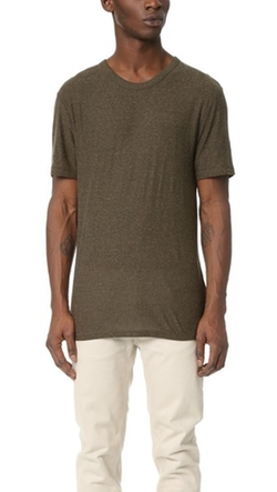 T By Alexander Wang  - Slubbed T-Shirt