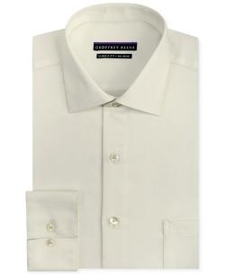 Geoffrey Beene  - Non-Iron Sateen Solid Dress Shirt