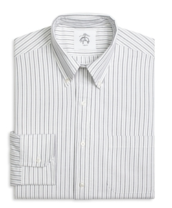 Black Fleece - Stripe Button-Down Shirt